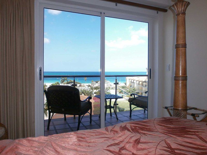 Your master bedroom view!