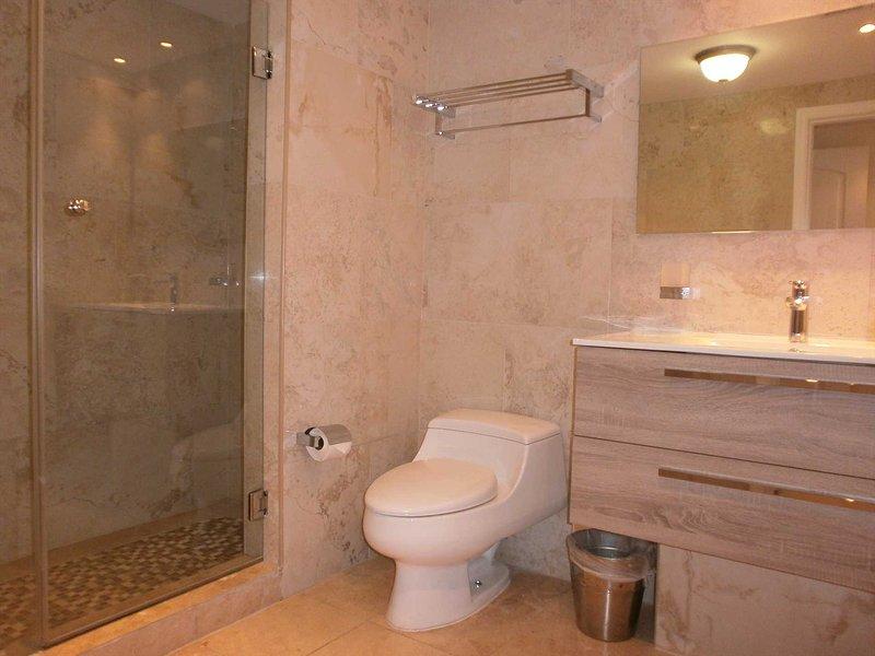 Updated master en-suite bathroom