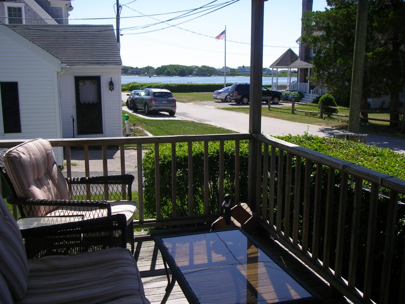View of great bay from front porch
