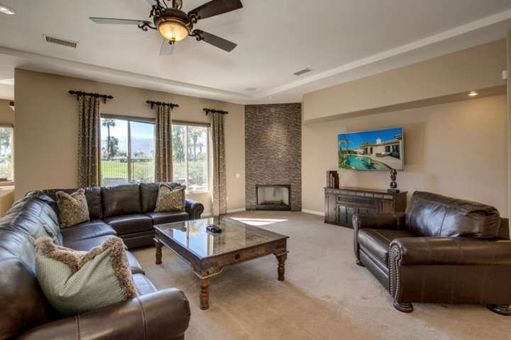Open concept living/ dining / kitchen with great views everywhere!