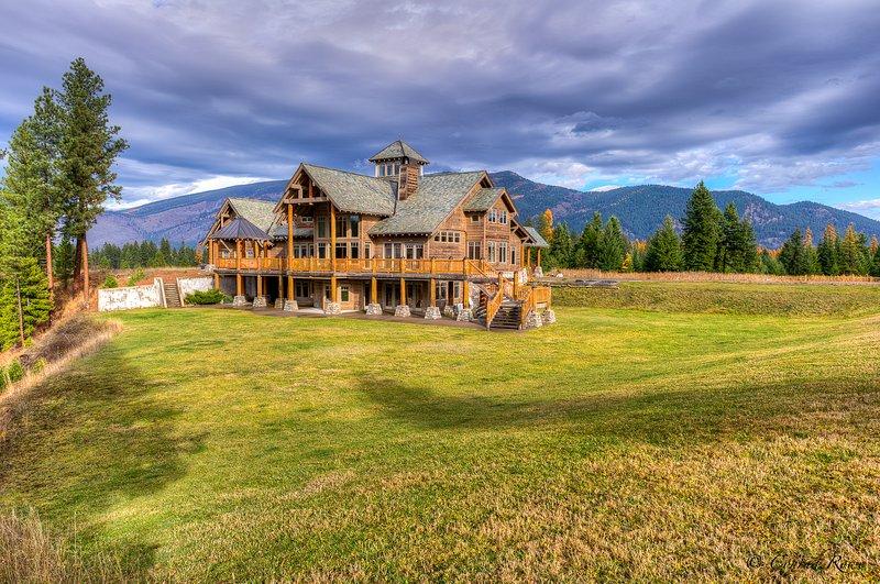Le Lodge sur 90 acres