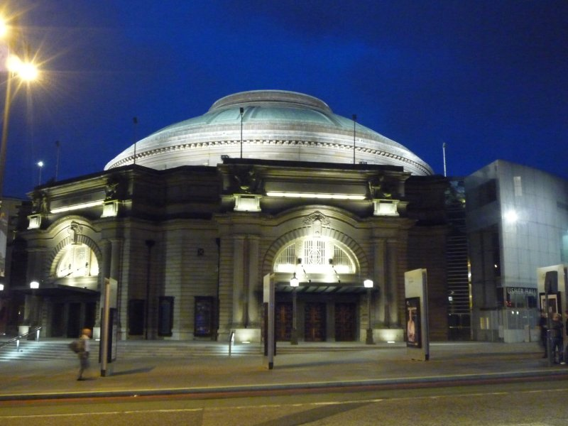 The Usher Hall on Lothian Road