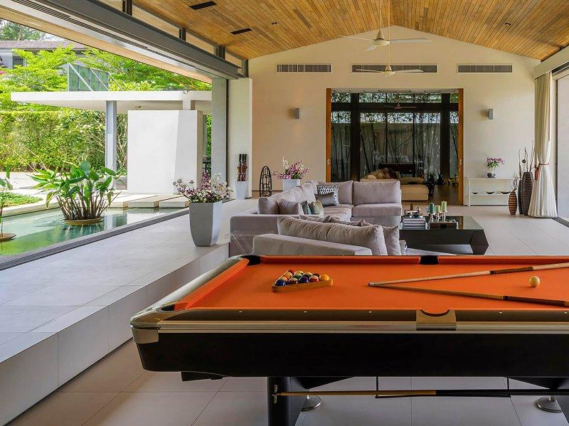 Villa Cielo - Pool table