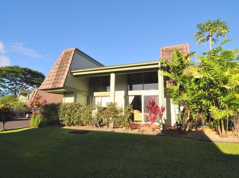 This 2-story, corner-unit vacation rental condo offers the ultimate Princeville family experience!