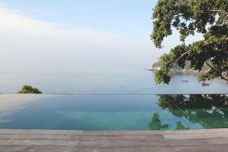 Our Tropical Paradise Villa – Private pool and Sea View, aluguéis de temporada em Koh Tao
