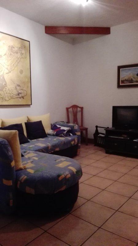 Caleta Interian hall area.