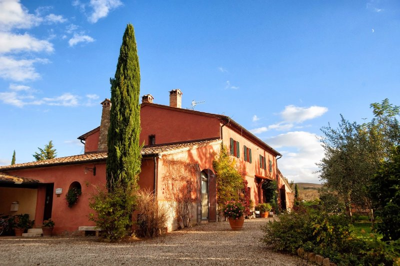 Casale d'Orcia, holiday rental in Gallina