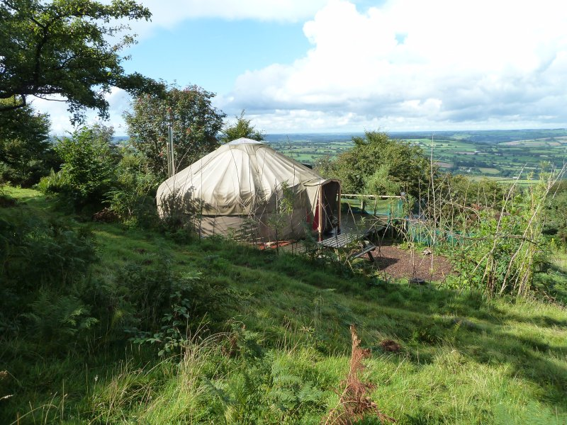 5 star Yurt luxury with Bathhouse in AONB in East Cornwall UK - Can Sleep up to 6, holiday rental in Callington
