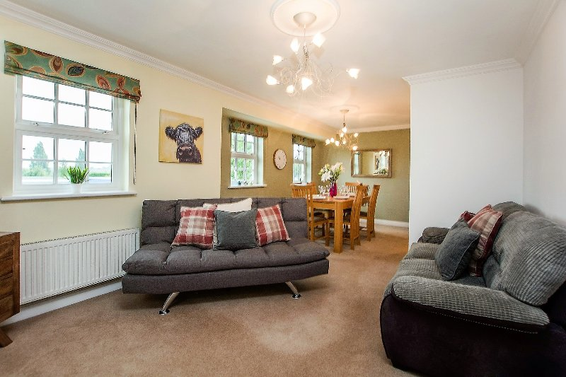 The Station Apartment, holiday rental in Knapton