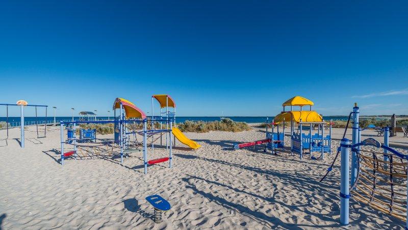 aire de jeux plage