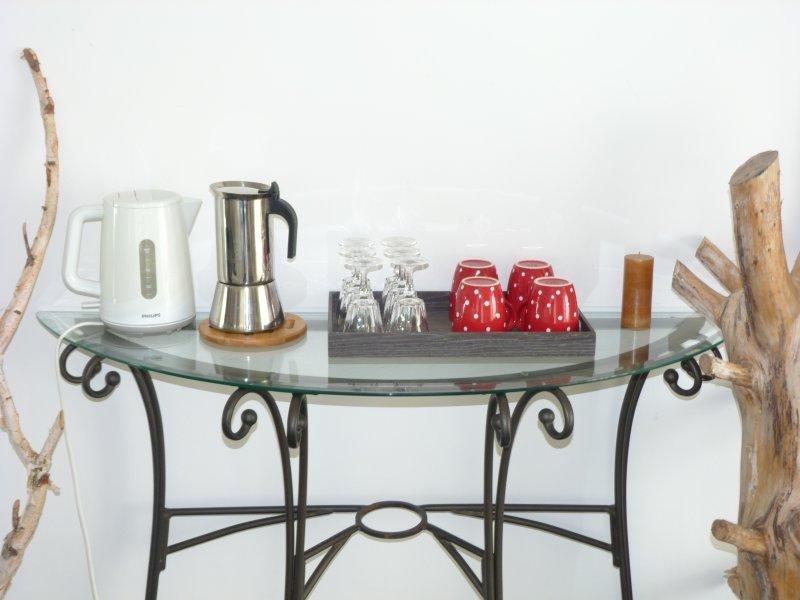 Kettle and coffee mocha Bialetti