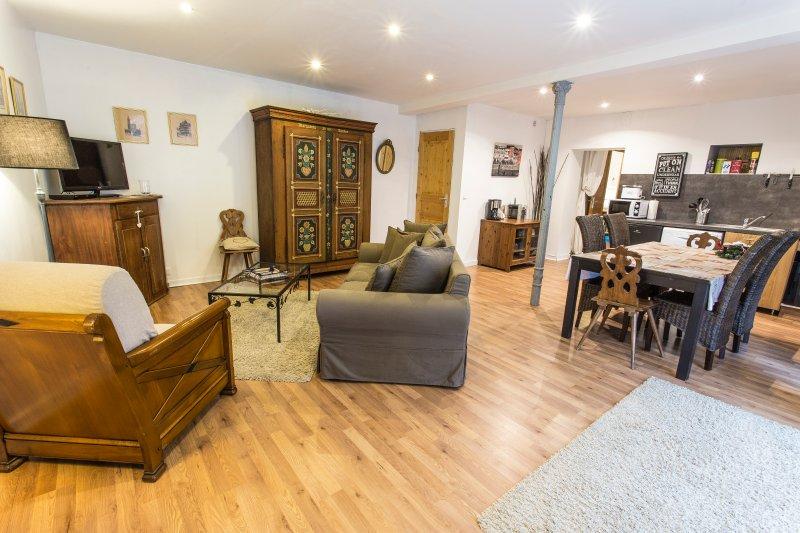 Magnifique appartement 2 pièces sur la route des vins - L'Ecurie, holiday rental in Dahlenheim