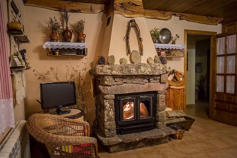 Casa rural del tío Perejil, alquiler de vacaciones en El Vallecillo