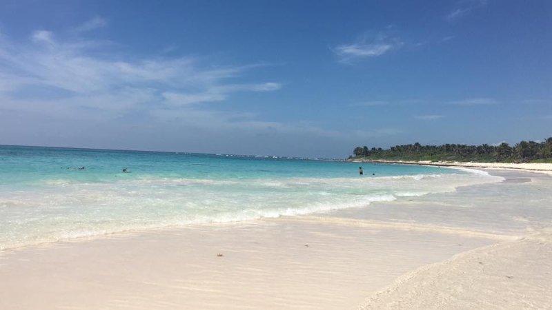 Local Xcacel Beach