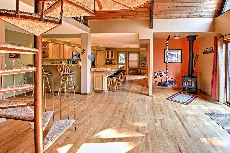 Der offene Grundriss ist perfekt für eine Gruppe von 8 bis 10 Gästen einen unvergesslichen Urlaub zu suchen.