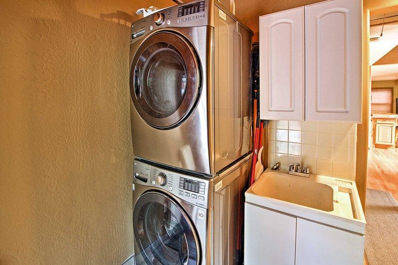Waschmaschinen sind für Ihre Bequemlichkeit zur Verfügung gestellt.