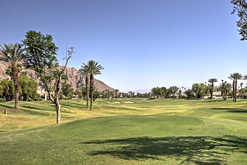 The home is located on the 11th tee box on the famous Palmer Private course.