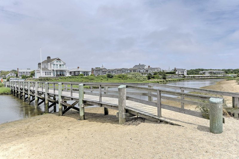 Enjoy easy access to Lewis Bay and Colonial Acres Beach.