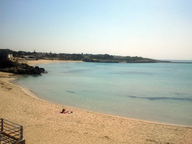 fine sandy beach and white part of which is equipped very shallow water for children.