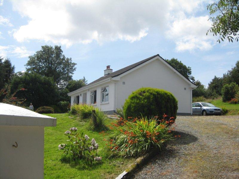 Il cottage visto dalla strada