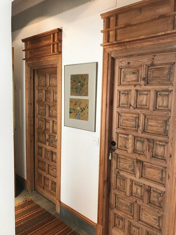 Castillian doors - traditional house doors