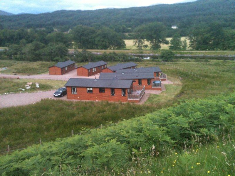 Veduta di Lochaber Lodges