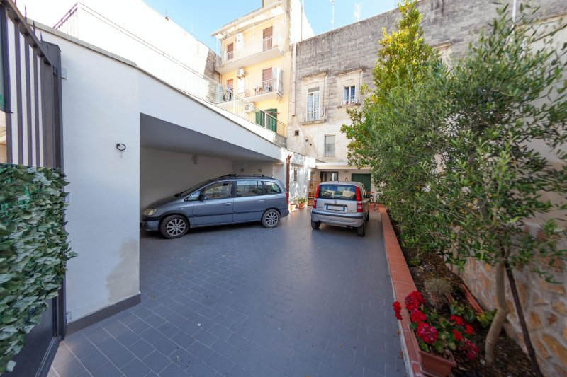 Patio with car parking