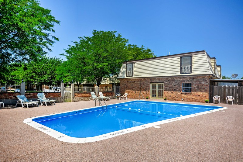 Experience Amarillo, Texas from this 2-bedroom, 1.5-bathroom vacation rental condo in Villa Pree Condominiums!