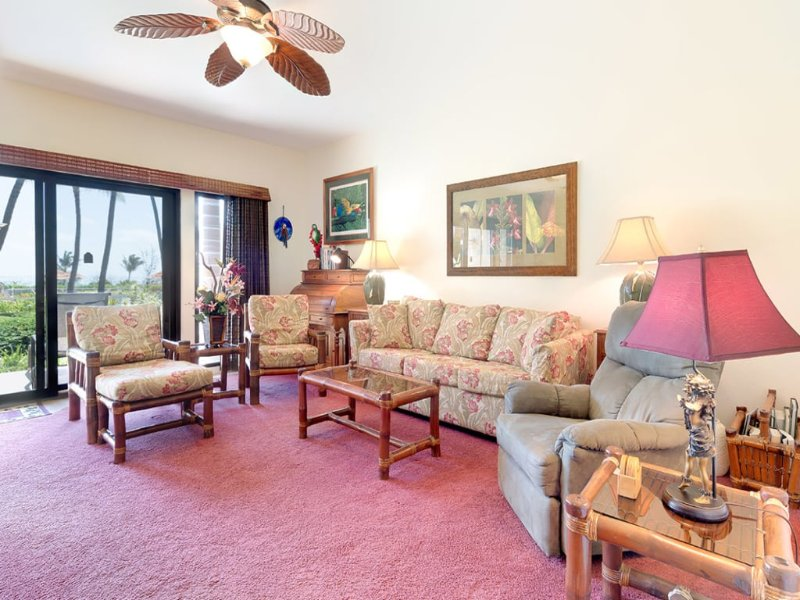 fascinating Island Style Ceiling Fans Part - 12: Ground Floor Ease+Island Style w-Full Kitchen, Lanai, Ceiling Fan, WiFi-Kaha