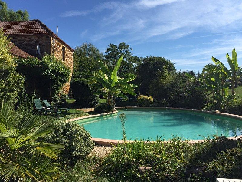 Der gemeinsame Pool (12m x 7m)