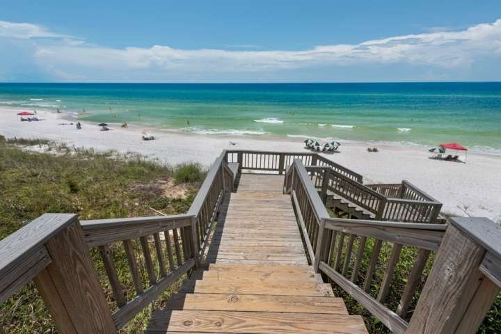 Beach access at Monterrey Condominiums - Enjoy the beautiful beaches of the Gulf of Mexico during your stay ....