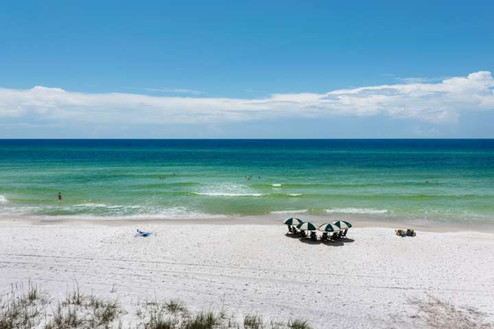 Amazing Emerald Green and Blue Waters along the Gulf of Mexico on 30A!
