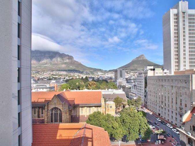 Vista desde el balcón del apartamento TAJ 906