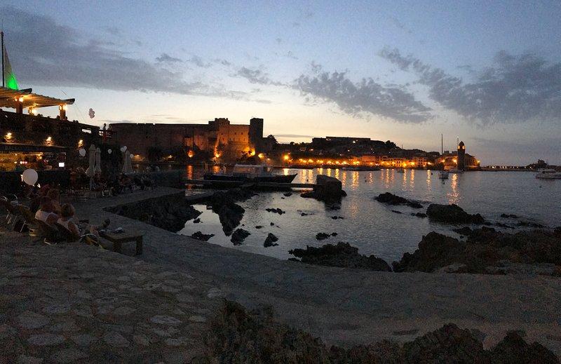 Soirées à Collioure