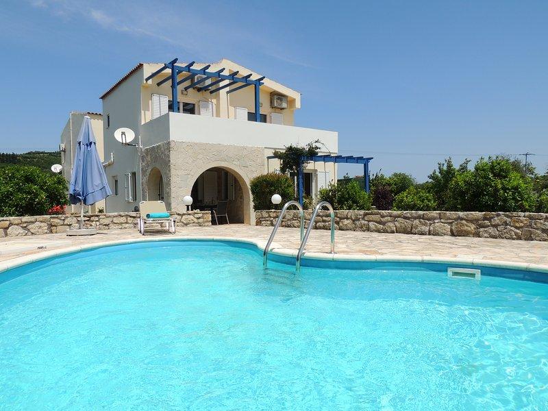 Villa Adelphi and pool.