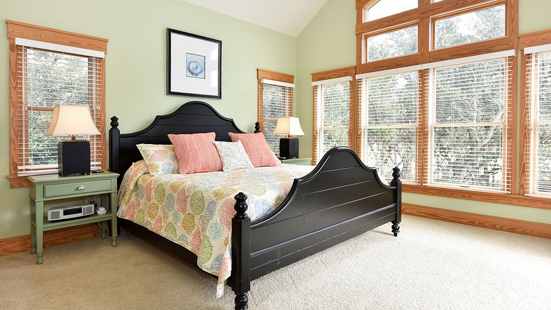 Main king master bedroom on top level