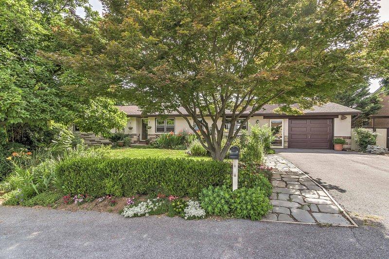 Situado a poca distancia del Parque Nacional Harpers Ferry, esta casa está cerca de pintorescos senderos de senderismo.