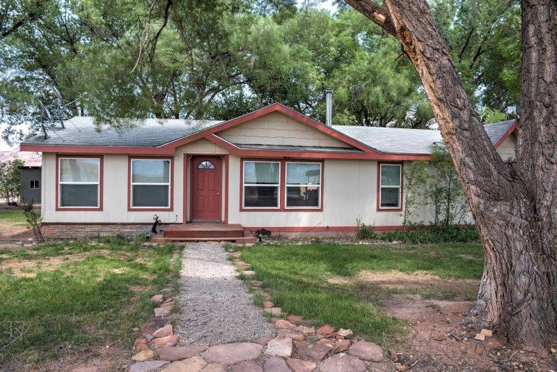 La propiedad ofrece un refugio tranquilo para un máximo de 6 personas.