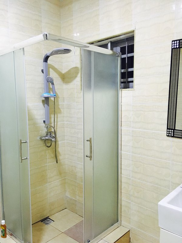 Ensuite bathroom with shower cubicle
