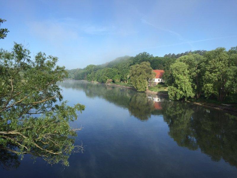 Ferienwohnung in traumhafter Wasserlage, location de vacances à Schmargendorf