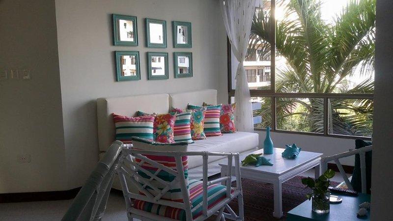Apartamento de PLAYA para 6 y 8 personas, vacation rental in Santa Marta Municipality