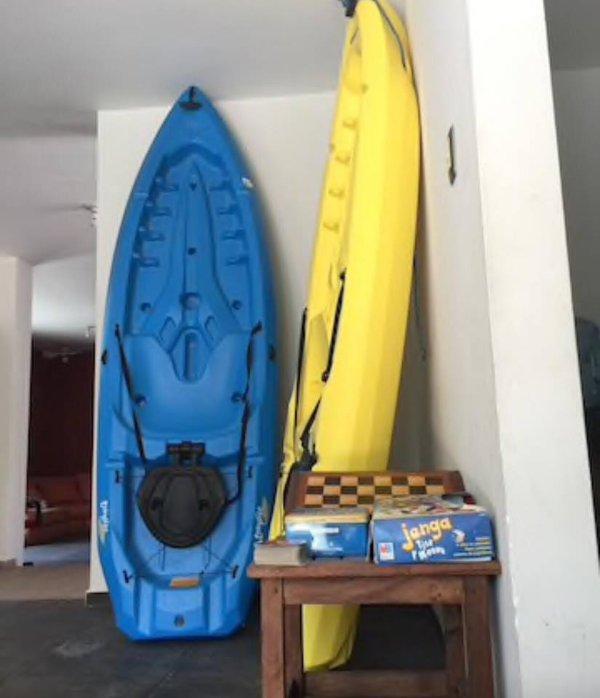 Kayac'sy games at guests' disposal