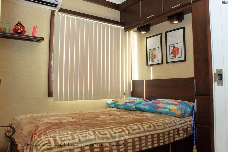 Masters Bedroom - double size bed - 2 to 3 persons