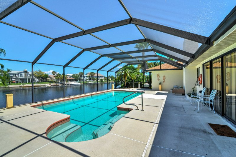 Escape to Florida's pristine waters when you stay at this 3-bedroom, 3-bathroom vacation rental house in Hernando Beach!
