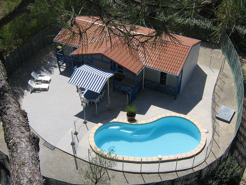 CHALET PISCINE PRIVEE SANS VIS A VIS et SPA, holiday rental in Soulac-sur-Mer