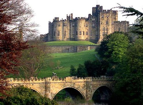 Venture inland to Alnwick Castle, you might recognise it from the school of witchcraft and wizadry.