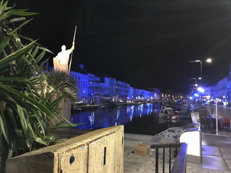 A cidade de Sete com o seu porto mítico