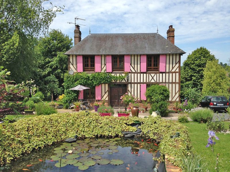 A little Gem of a house, just 10 min from Honfleur