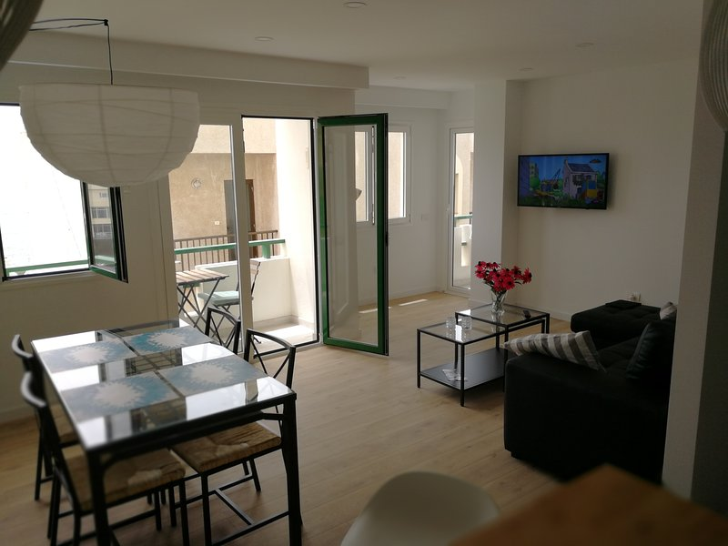 Apartment with seaview in front of El Medano beach, vacation rental in El Medano