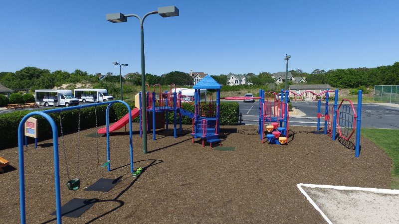 Play ground for the little ones at The Currituck Club